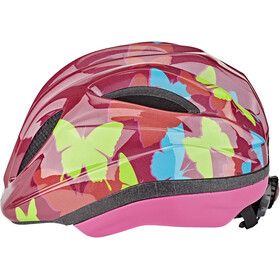 KED Meggy II Trend Helm Kinder butterly/bordeaux